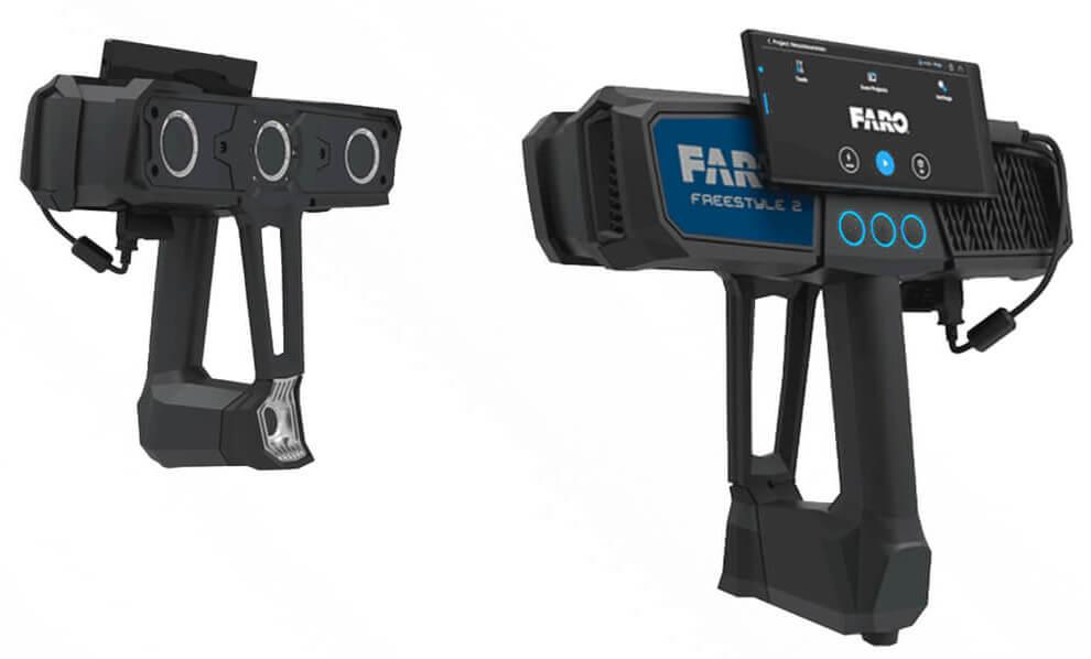 Ручной 3D сканер Faro Freestyle 2